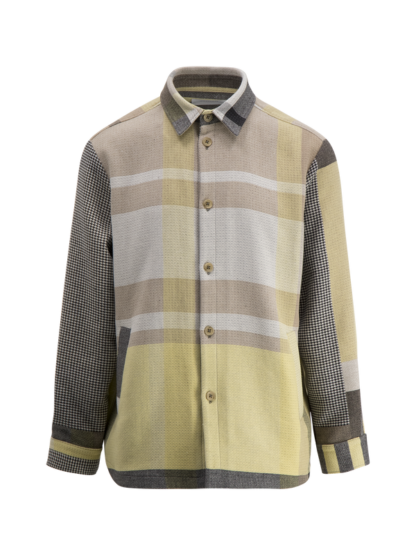 ELIX SHIRT JACKET  Yellow