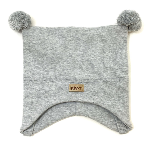 LABEL HAT WP  Grey Melange