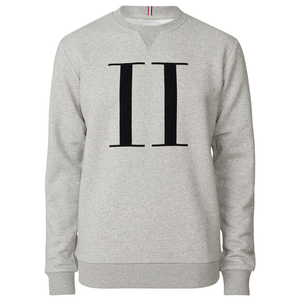 ENCORE SWEATSHIRT  Light Grey Melange/Medium Grey