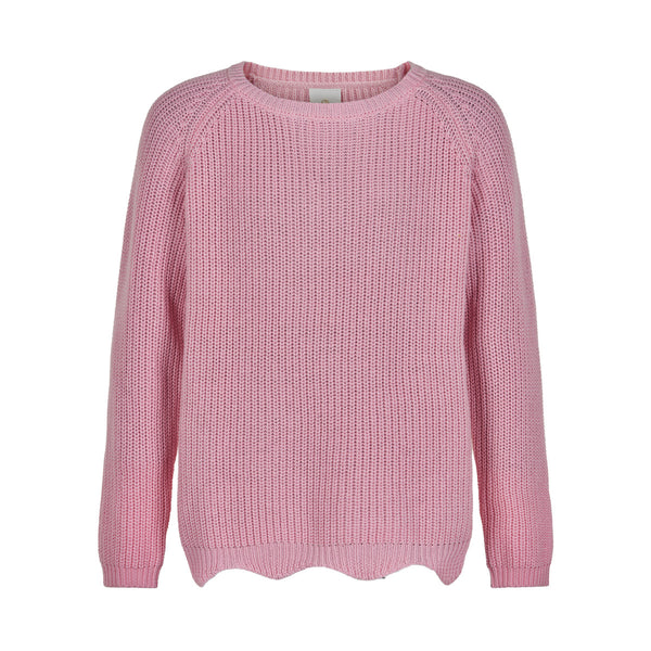 OLLY KNIT SWEATER  Peachskin