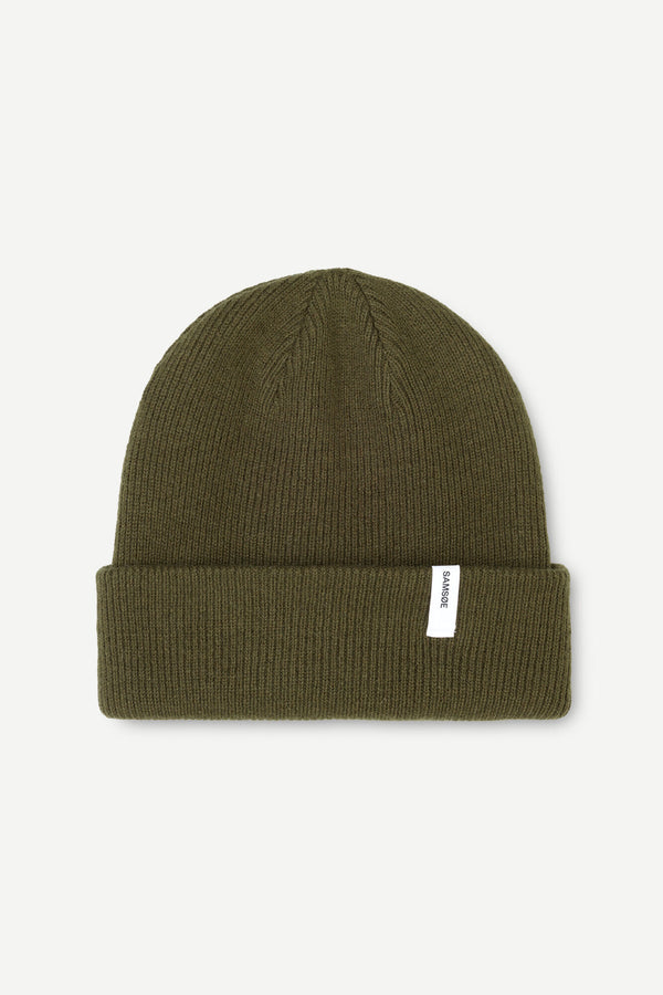 The Beanie  Dark Olive