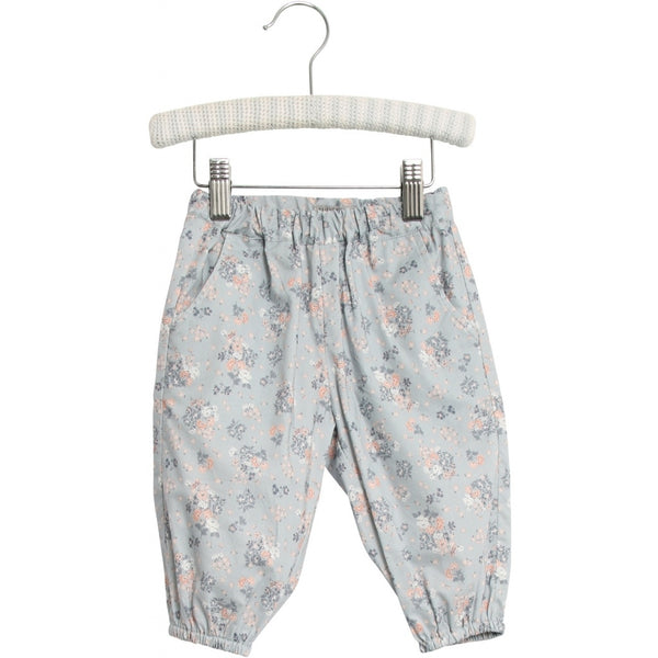 TROUSERS MALOU  Pearl Blue Flowers