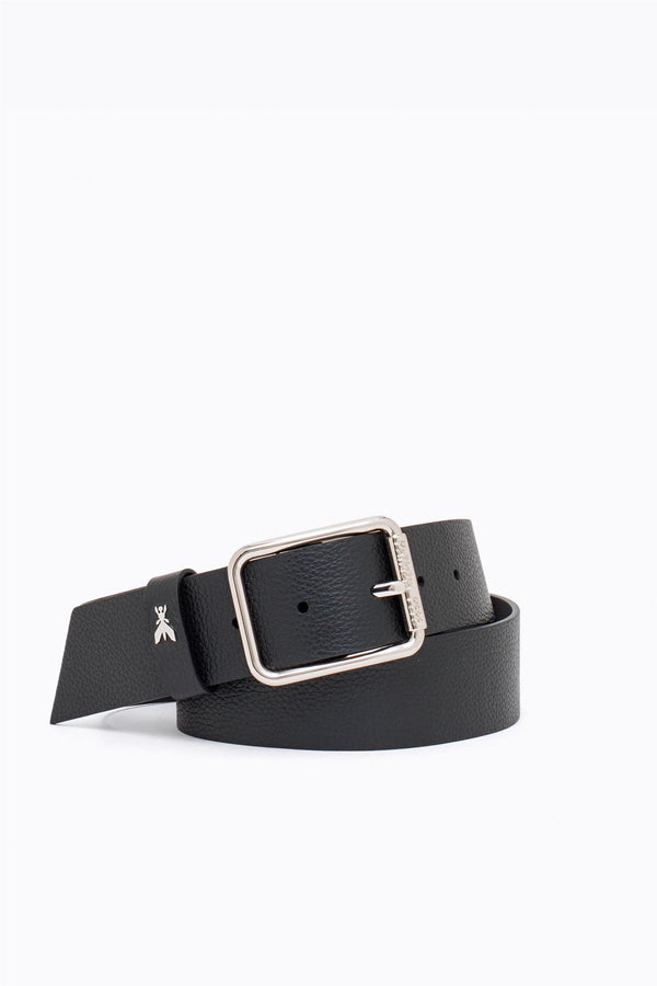 LEATHER LOW-WAIST BELT  Sort