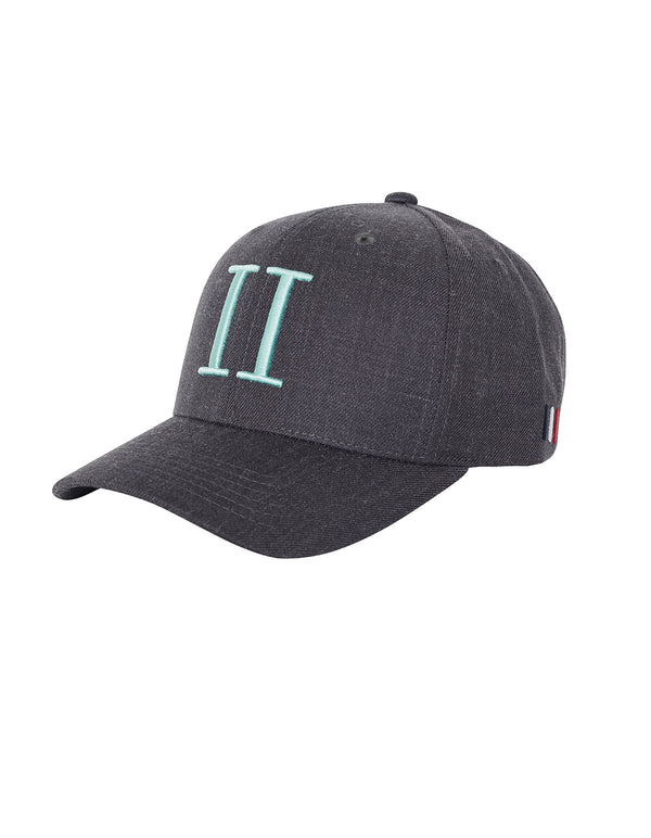 ENCORE TWILL BASEBALL CAP  Anthrazit/Mint