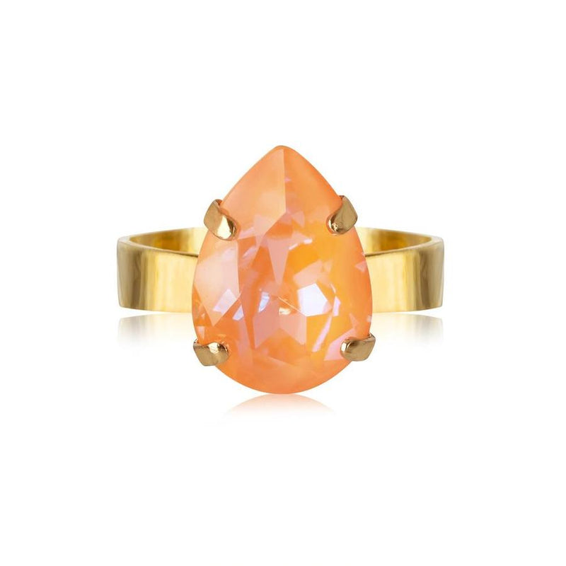 MINI DROP RING  Peach Delite
