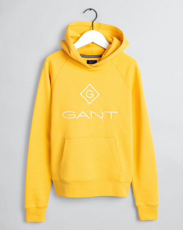 LOCK-UP SWEAT HOODIE  Mimosa Yellow