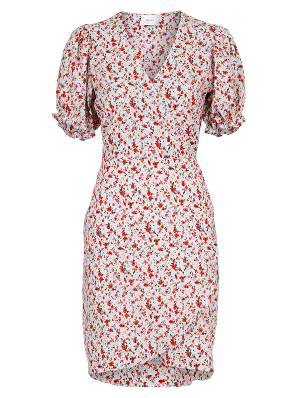 SPANG WILD FLOWER DRESS  Off White