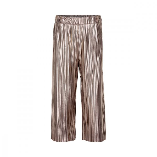 PANTS PLISSE JERSEY  White Gold