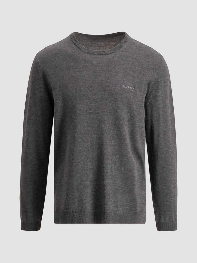 CENTRAL KNIT  Grey Melange
