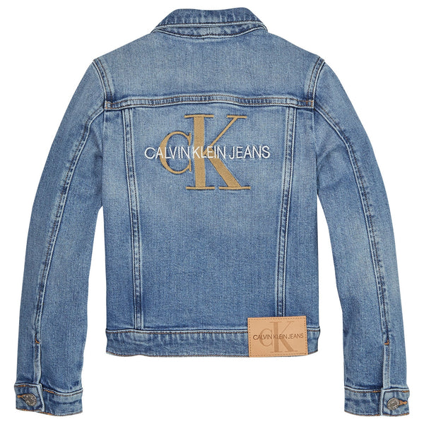 GIRLS TRUCKER  Monogram Jeans