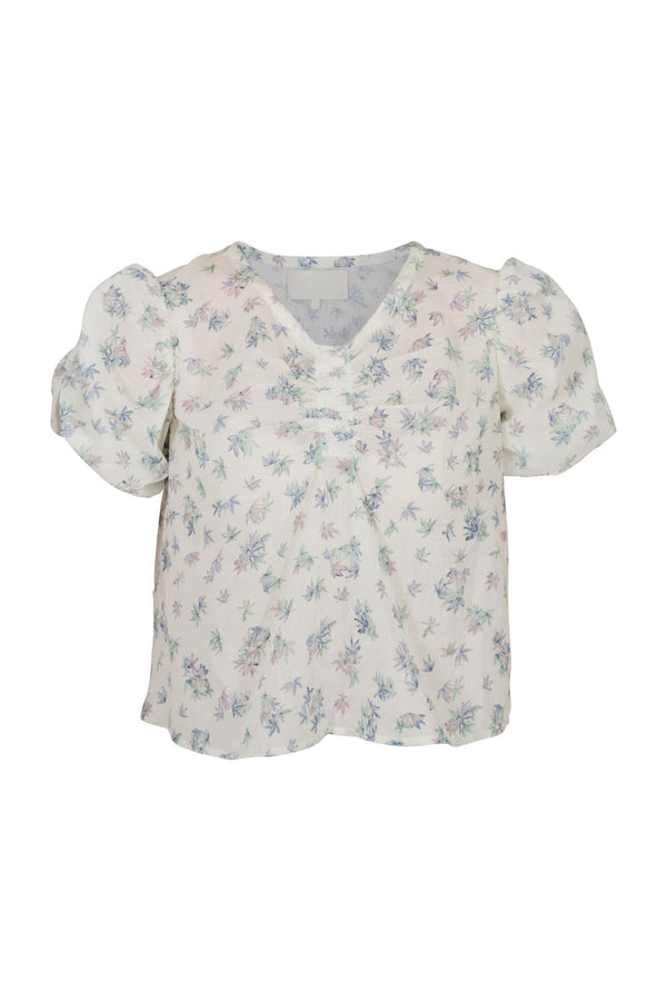 JANE BLOUSE  Spring Leaves