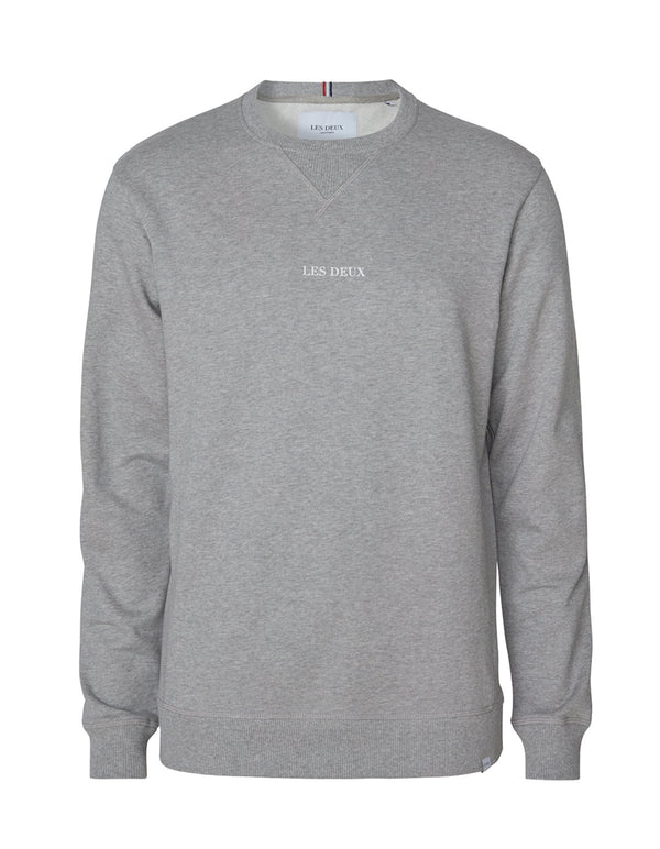 LENS SWEATSHIRT  Light Grey Melange