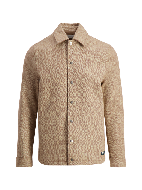 GABO SHIRT JACKET 20-04  Sand
