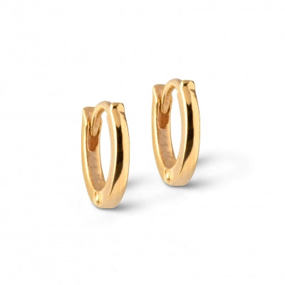 HOOPS, CLASSIC 6MM  Gold