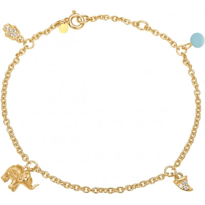 BRACELET LUCKY CHARMS  Arctic Blue