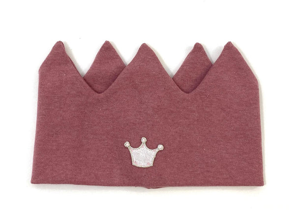 CROWN HEADBAND  Melange Old Rose