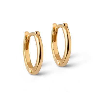 HOOPS, CALSSIC 8MM  Gold