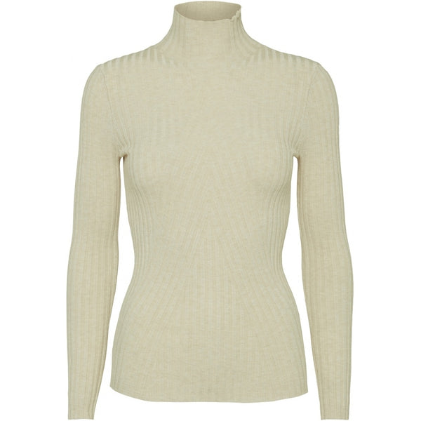 CHELSEA LS KNIT TOP  Off White