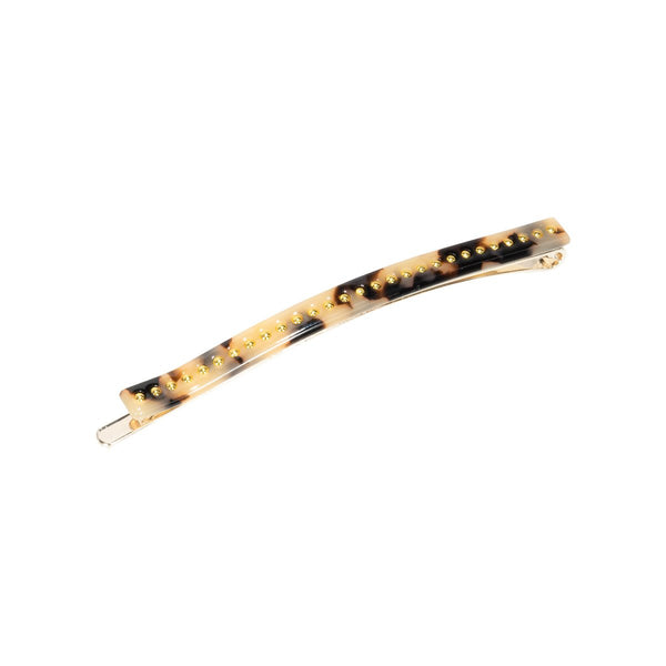 PHILIPPA HAIR PIN  White Leo