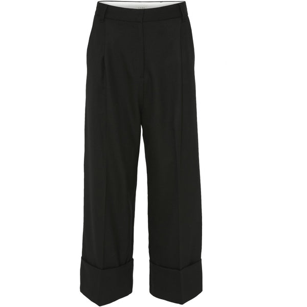 HEIDI HIGH WAIST PANTS  Sort