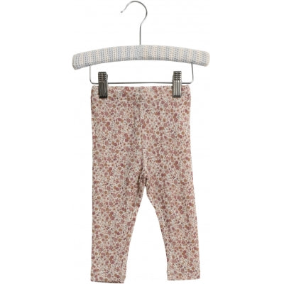 WOOL LEGGINGS  Flowers