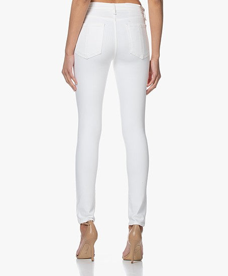 CATE MID-RISE SKINNY  White