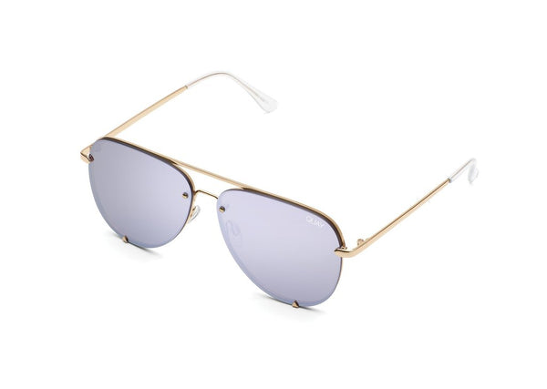 HIGH KEY MINI RIMLESS  Gld/Lil