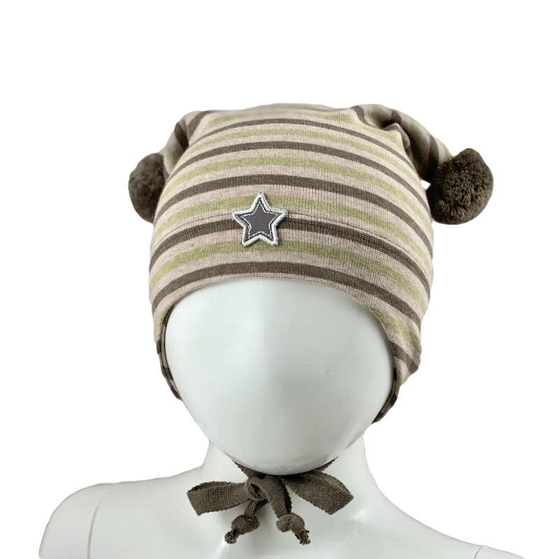 STRIPED WINDPROOF HAT  Striper