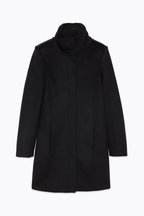WOOLLEN COAT  Sort