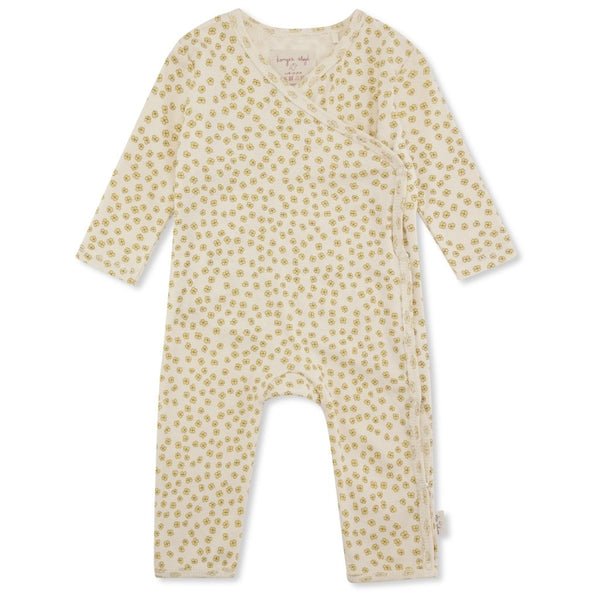 NEW BORN ONESIE  Buttercup Yellow