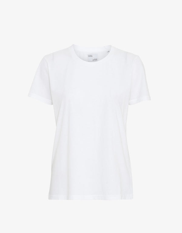 WOMAN LIGHT ORGANIC TEE  White