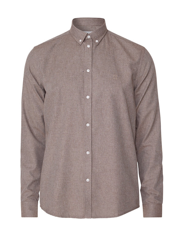 DESERT SHIRT  Brown Melange