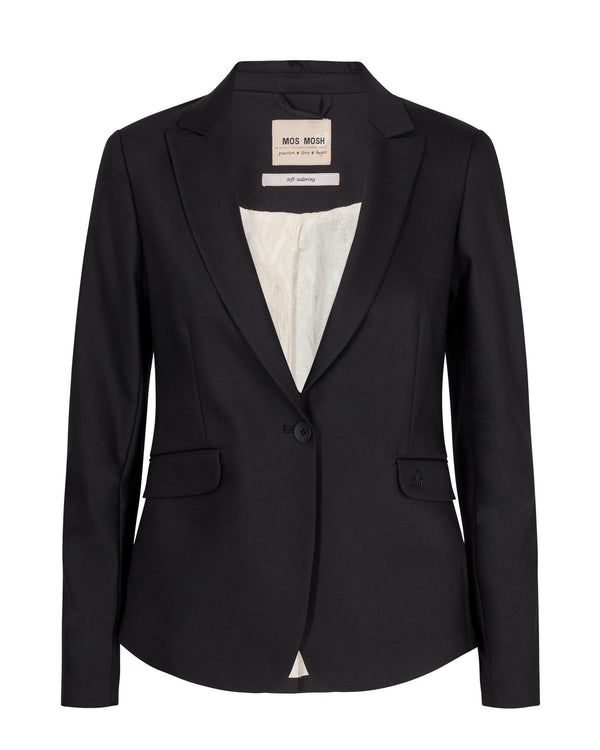BLAKE NIGHT BLAZER SUSTAINABLE  Black