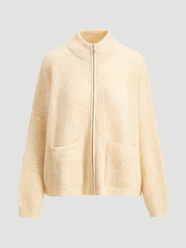 PENGUIN KNIT CARDIGAN 00-00  Light Yellow