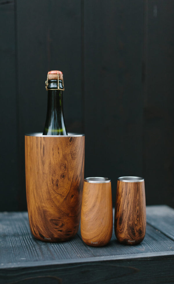 WINE CHILLER  Teakwood