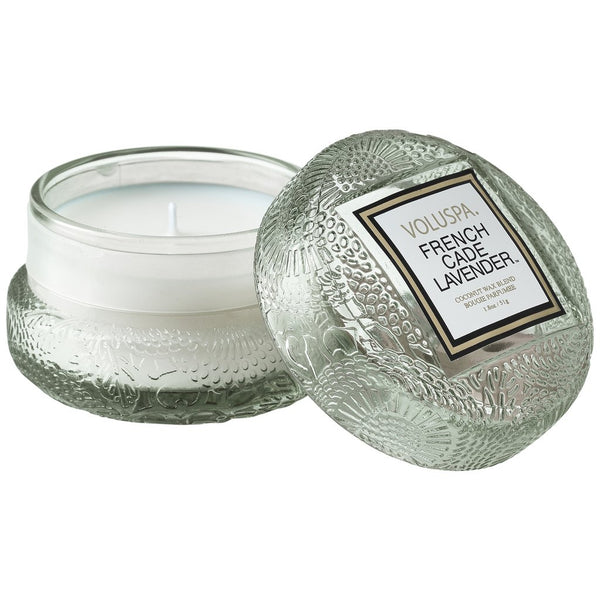 MACARON CANDLE  French Cade & Lavendel