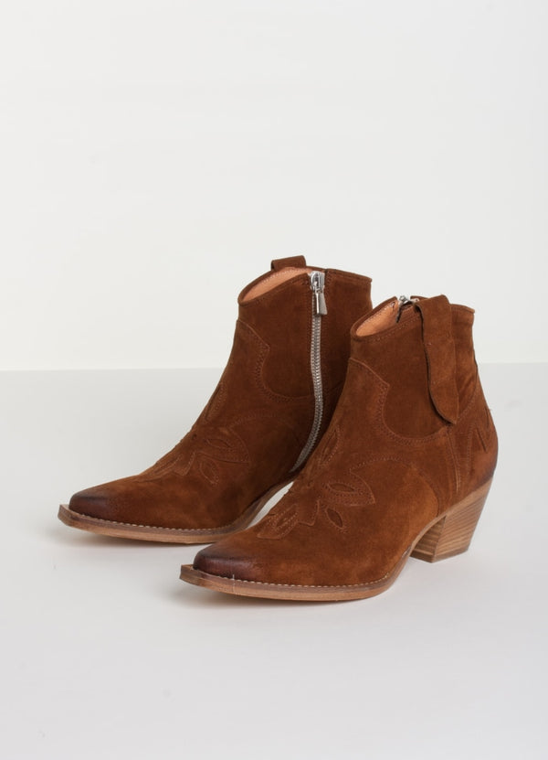 LEE BOOTS  Cognac