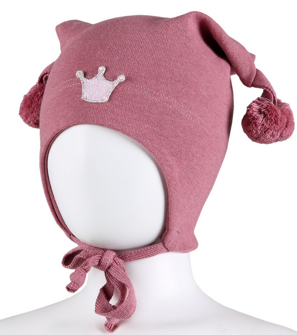 CROWN HAT WP  Melange Old Rose