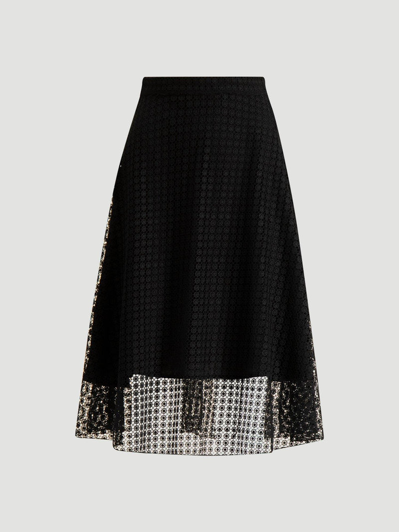 BLOW OUT SKIRT  Black