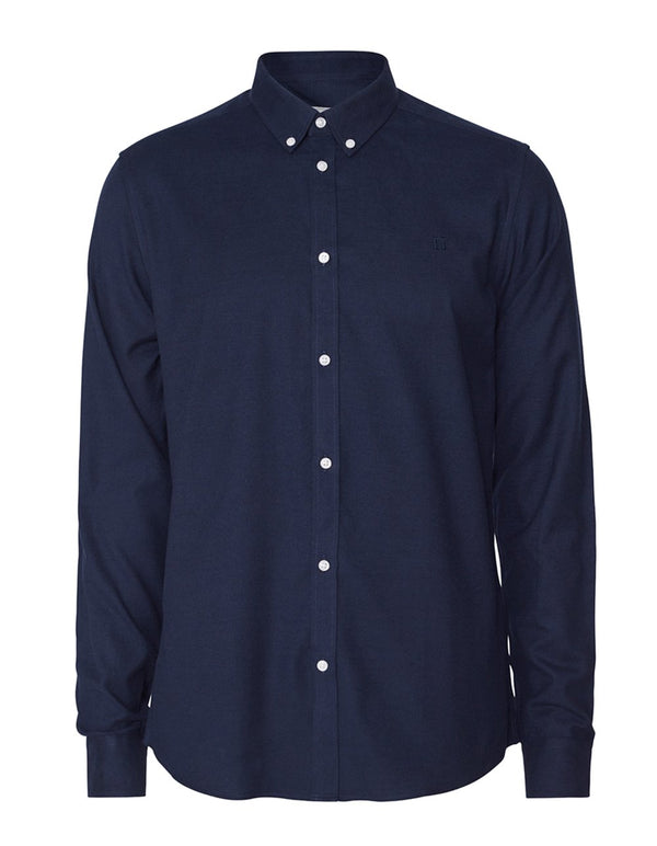 HARRISON BRUSHED SHIRT  Dark Navy