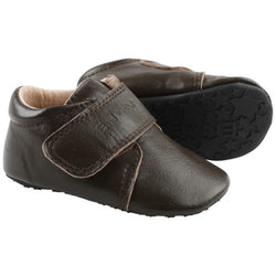 VELCRO SLIPPERS  Brown