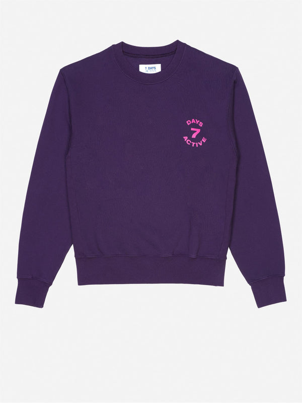 MONDAY CREW NECK  Grape Purple