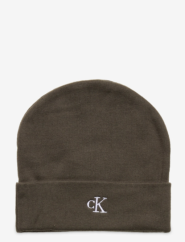 MONOGRAM BEANIE  Grape Leaf