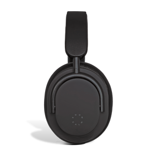 Know Calm Black Active Noise Cancelling Headphone sidex