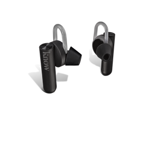 Comfy Black Truly Wireless Earbuds Buds