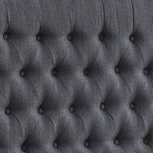 Load image into Gallery viewer, 24KF Upholstered Button Tufted Headboard is Comfortable and Classical/California King Size- Dark Gray