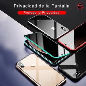 Funda Protectora con Pantalla Anti-Espía para iPhone (Cara Doble)