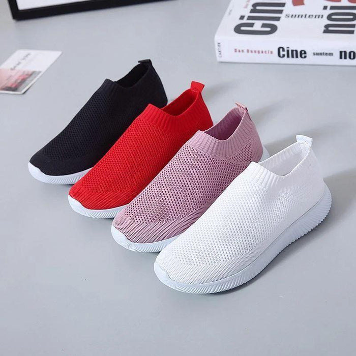 Zapatos Redondos Flying Knit Sneakers