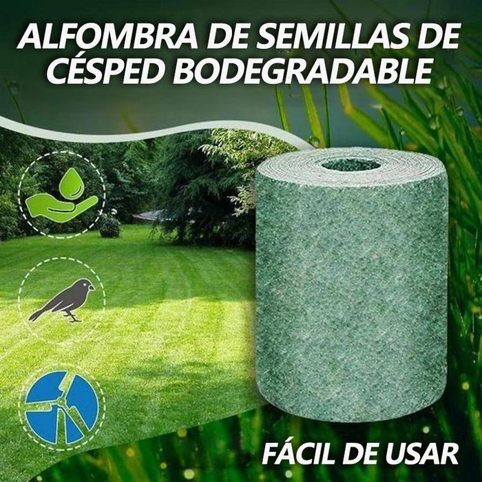 Estera de Semillas de Césped Biodegradable