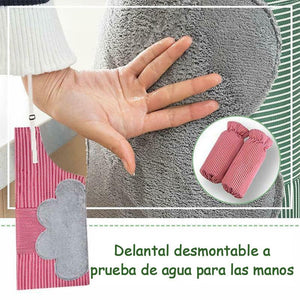 Delantal de Cocina Impermeable Borrable Ajustable